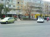 parcarea de pe linia de tramvai
