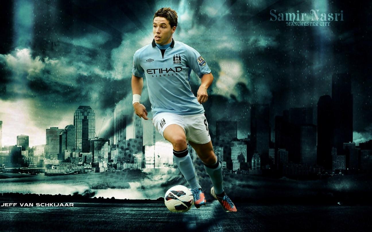 Samir Nasri Manchester City