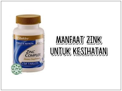 Manfaat dan Kebaikan Zink Complex Shaklee