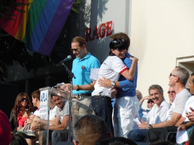AIDS Walk la 2011 celebs