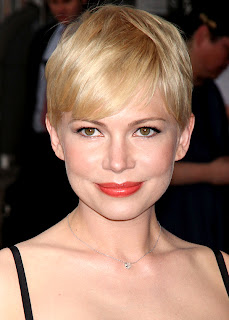 Hairstyles for short hair, Michelle Williams