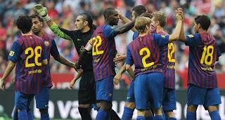 Barcelona Vs Bayer Final de Copa Audi