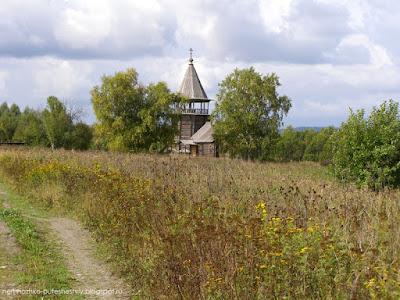 Ильинская церковь в селе Поля, заонежская деревня Поля