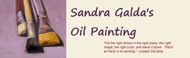 Sandra Galda&#39;s Oil Painting