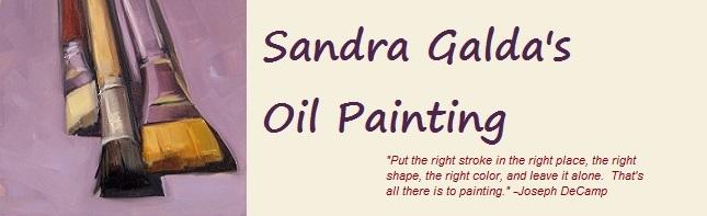 Sandra Galda's Oil Painting