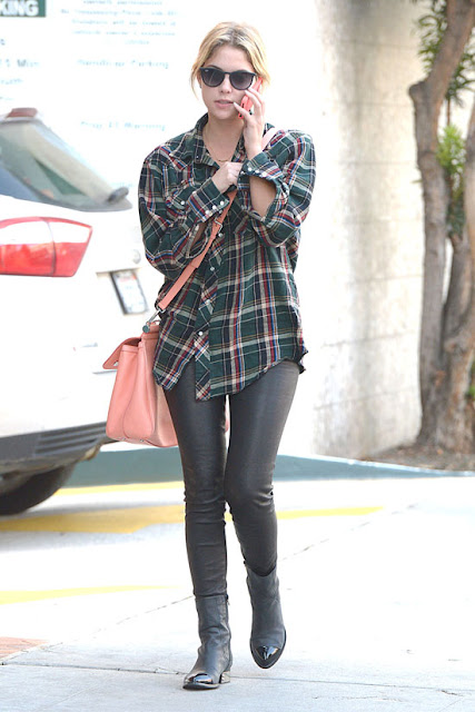 Ashley Benson1 - 2013 K��: Deri Pantolon ve Tayt