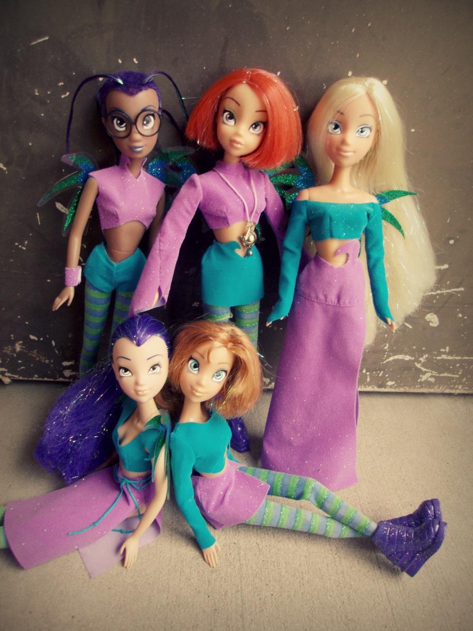 W.I.T.C.H. dolls