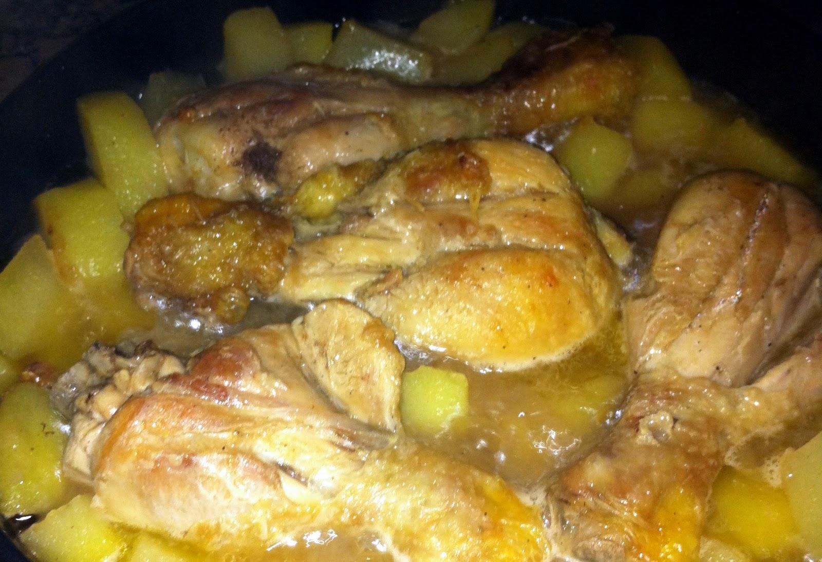 La cocina del francesc descubriendo otros pollo con for Maneras de cocinar pollo