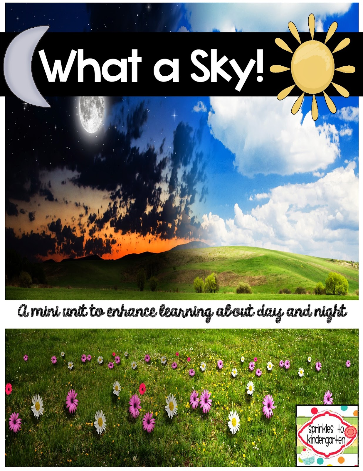 http://www.teacherspayteachers.com/Product/What-a-Sky-A-mini-unit-to-enhance-learning-about-day-and-night-1620279