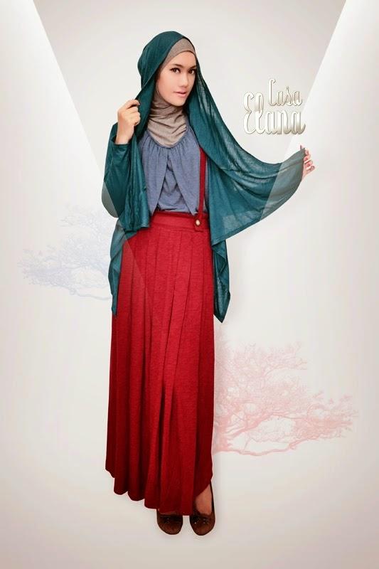 Model baju muslim pesta modis anak dan dewasa terbaru di Foto baju gamis anak muda terbaru