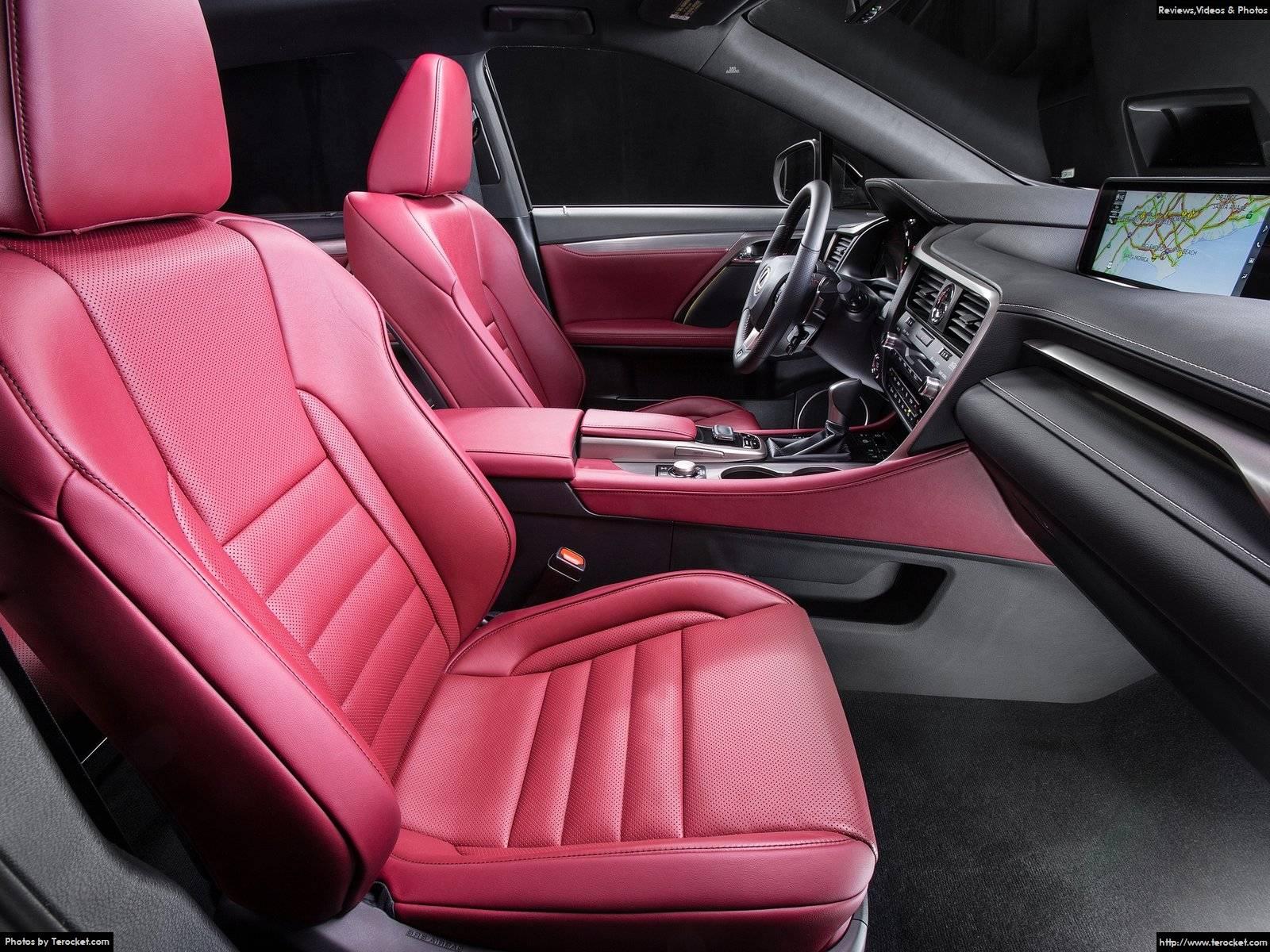 Hình ảnh xe ô tô Lexus RX 350 F Sport 2016 & nội ngoại thất