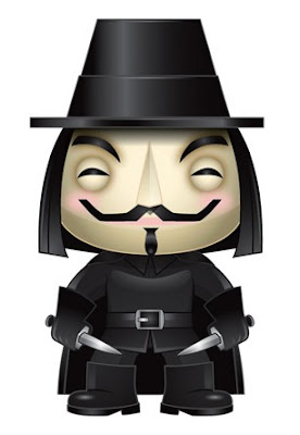 V for Vendetta Pop! Vinyl Figure Teaser Image by Funko