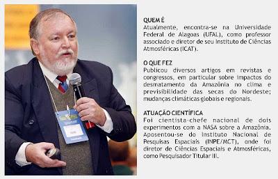 Prof. Molion denuncia manobras políticas que manipulam a ciência climática