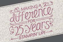 Stampin' Up 25 years Anniversary