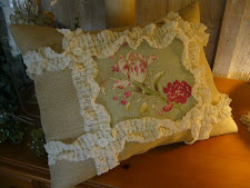 Another burlap pillow