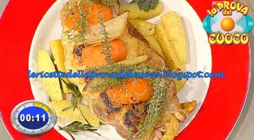 Faraona alle mele con patate arrosto ricetta Prova del Cuoco