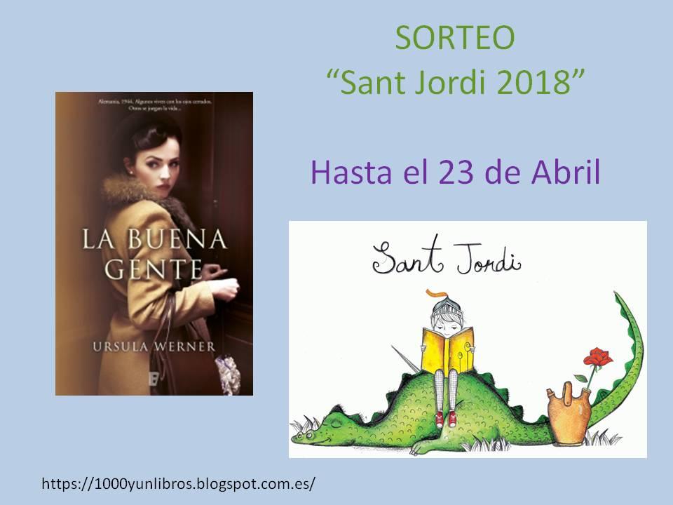 SORTEO SAN JORDI 2018