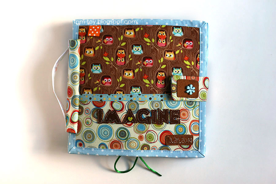 Quiet book for Imagine, Handmade fabric busy book for a girl, развивающая книжка для девочки