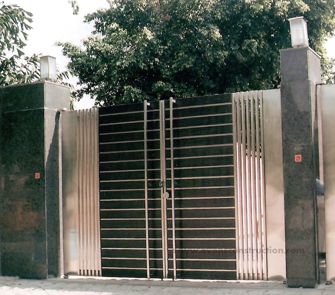 Evens Construction Pvt Ltd: Compound Walls and Gates