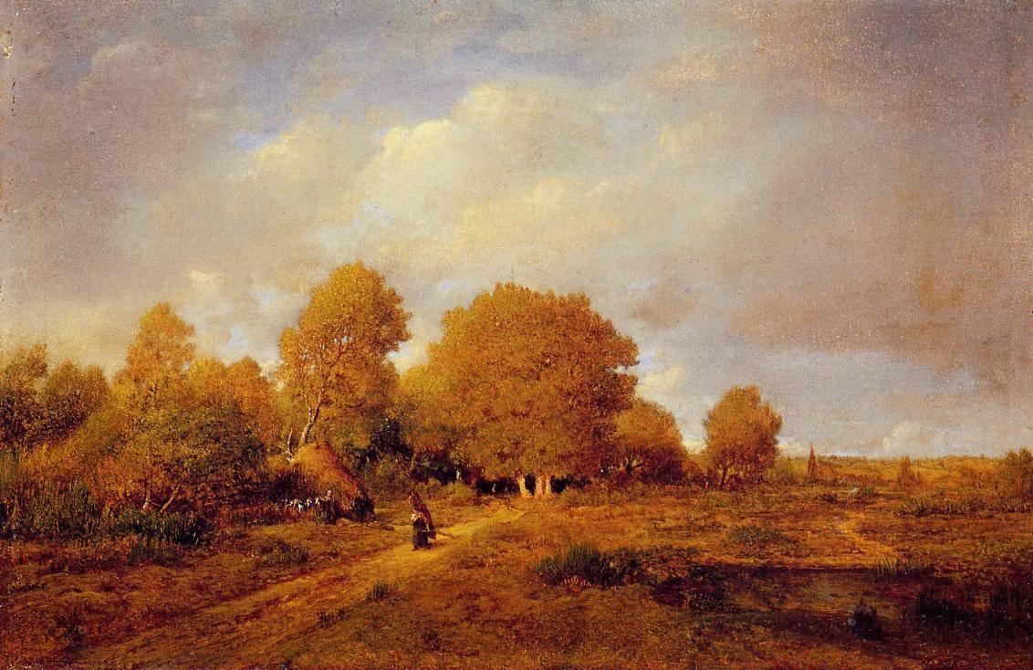 Théodore Rousseau | The Barbizon school of painters | Tutt ... Theodore Rousseau
