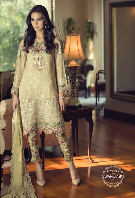 Maria B Mbroidered Collection 2015 For Eid