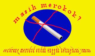 sudah enggak jaman lagi merokok