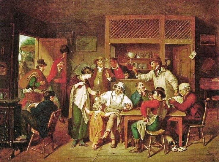 in an american inn 1814