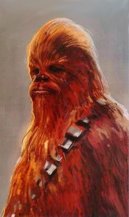 Concept Art Chewbacca Star Wars Ep.7: The Force Awakens