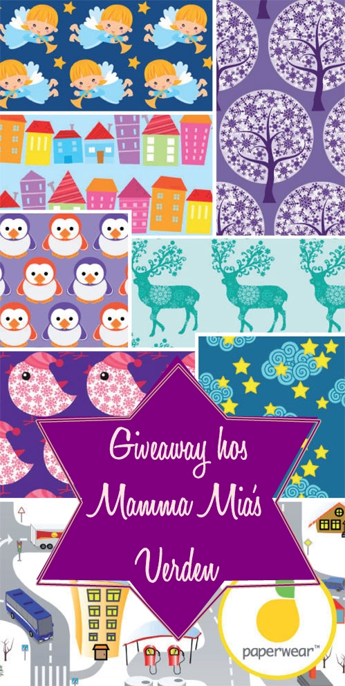 Give away hos Mamma Mias verden