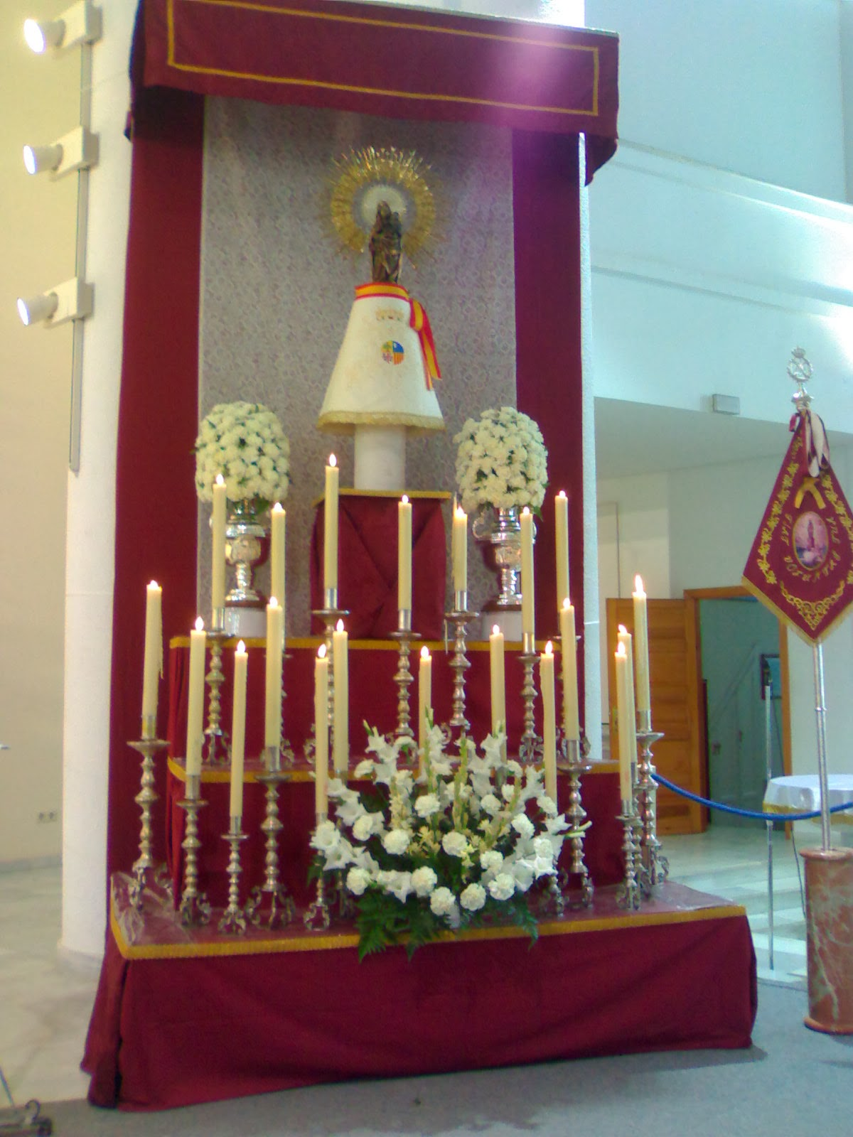 Triduo virgen del Pilar 2010