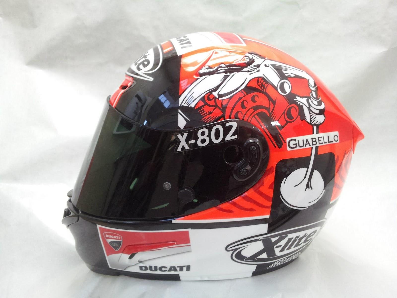 racing helmets garage x lite x 802r f battaini 2013 by. Black Bedroom Furniture Sets. Home Design Ideas