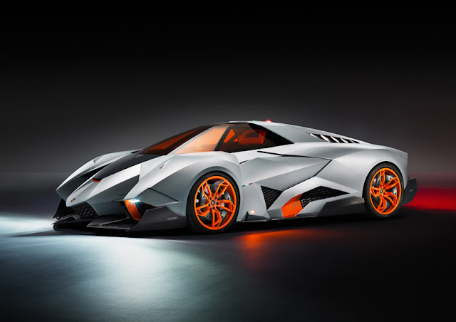 LAMBORGHINI EGOISTA 50th ANNIVERSARY CAR