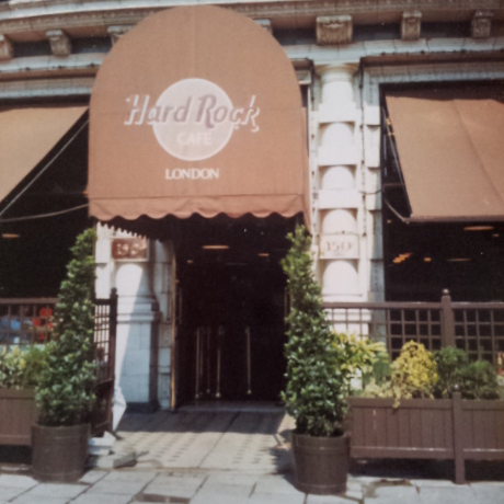 Hard Rock Cafe, London, 1990