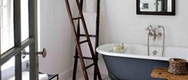 Neo-rustic bathroom