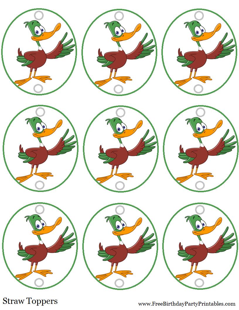DIY Birthday Blog: Duck Hunting Birthday Party Printables