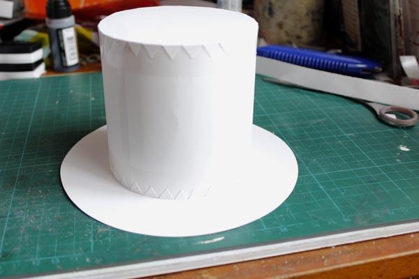 Как сделать шляпу цилиндр своими руками пошагово