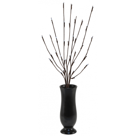 Led Light Branch In Twig Tip With Cappuccino Vase Giveaway