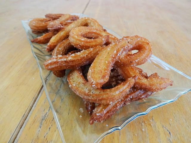 Hanukkah Churros Recipe — Dishmaps
