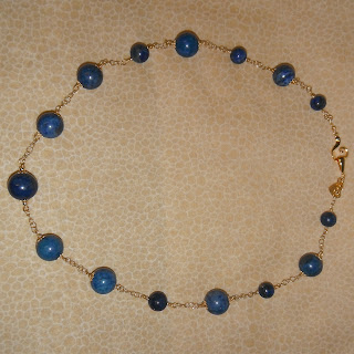 sterling silver, lapis lazuli, lapislázuli, necklace, gold, brujaness, brujaness's workshop