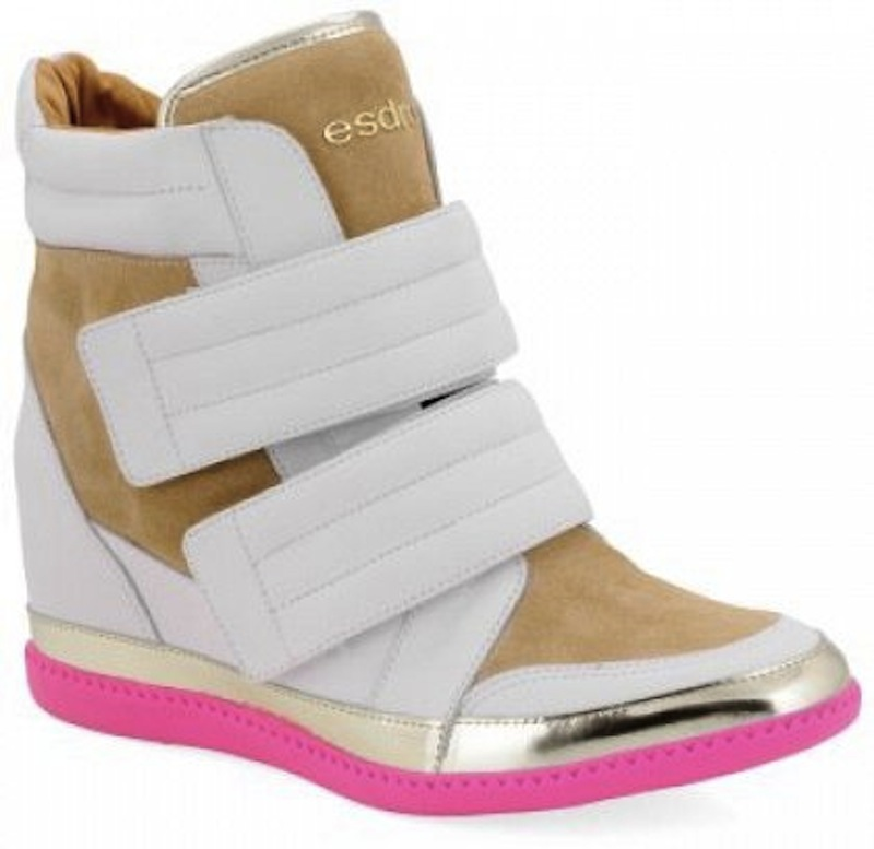 sneakers wedges multicolor