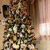 Living Room Tree & Village, Part 3, Christmas Home Tour 2014