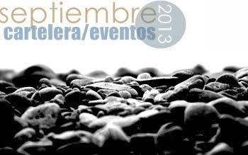 septiembre 2013 - cartelera/eventos