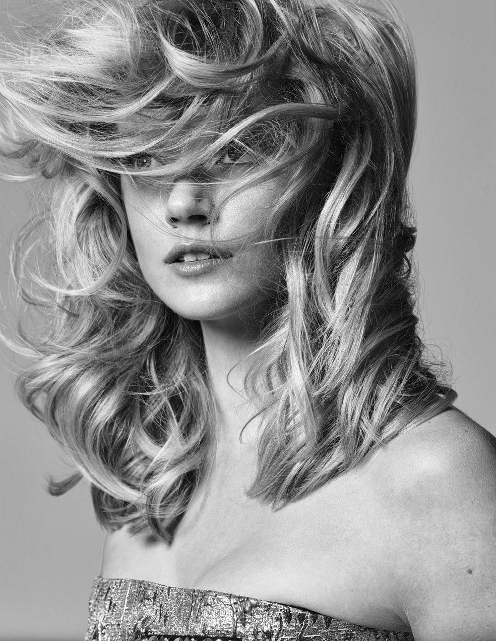 Lindsay Ellingson Elle Korea Magazine Photoshoot February 2014 By Hong Jang Hyun