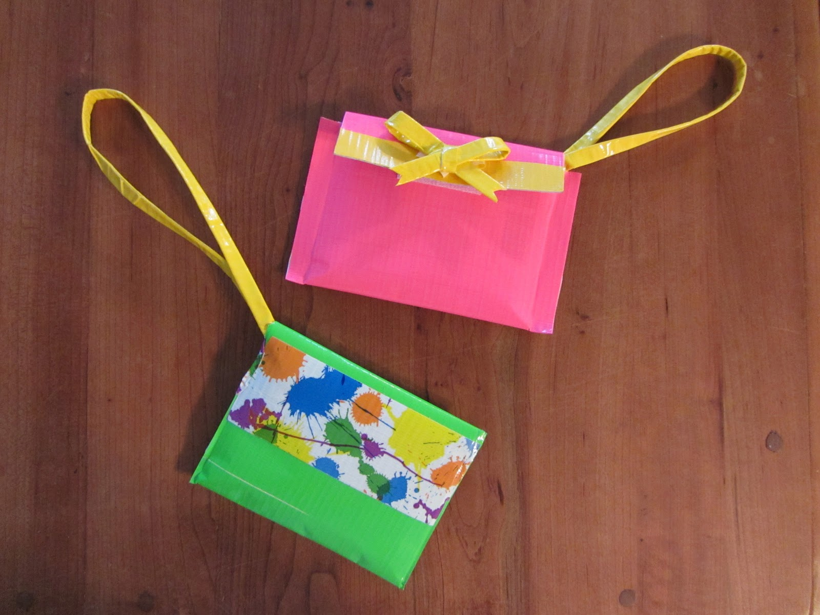 Moments of delight anne reeves duct tape wristlets for Craft ideas with duct tape