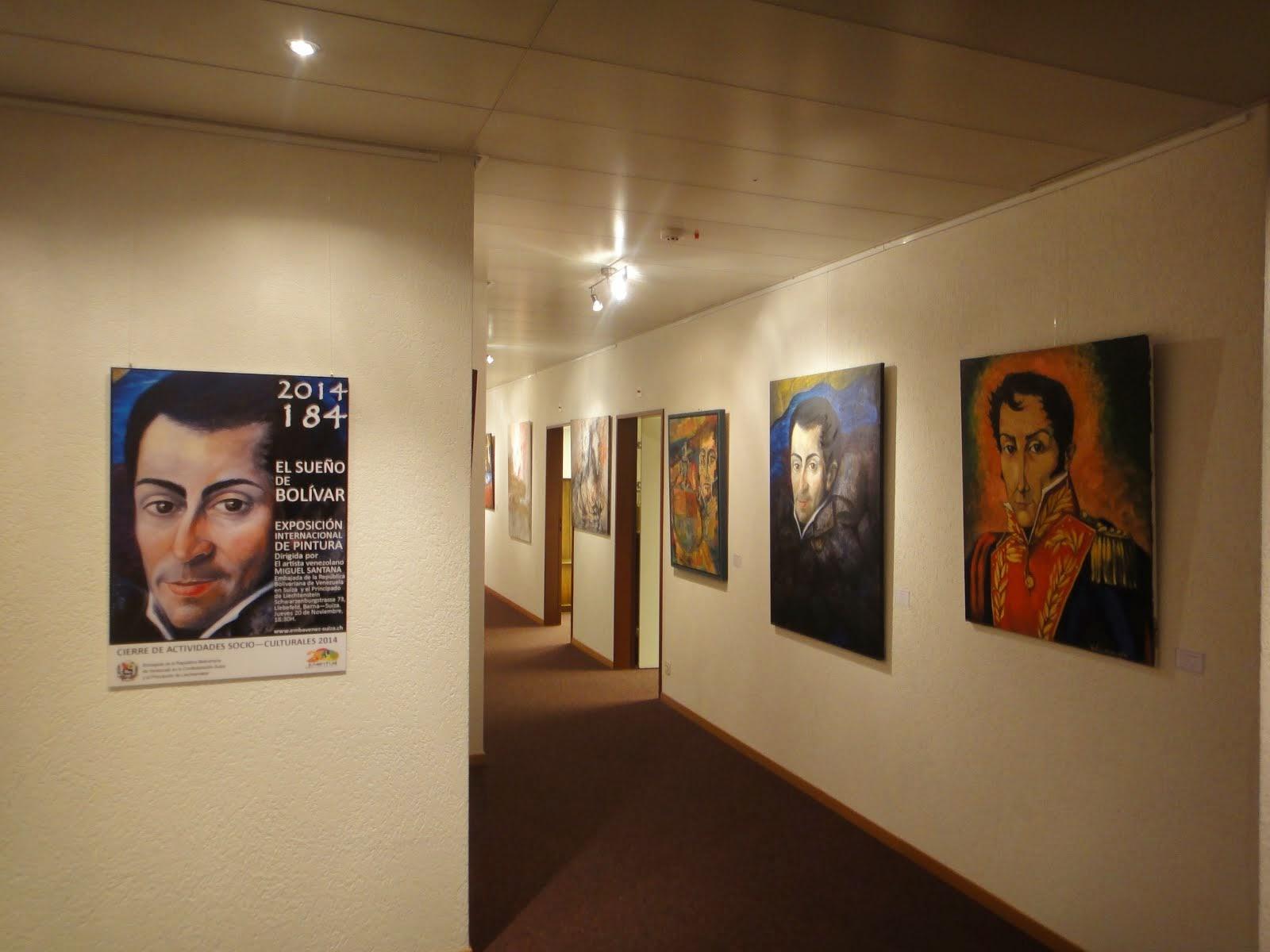 """Exposición """"El sueño de Simón Bolívar"""""""