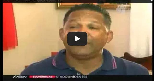 Taxista hace seria denuncia ante la prensa de Santo Domingo