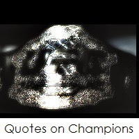 Quotes on Champions