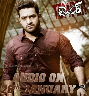 Jr NTR Temper Audio Release date songs list