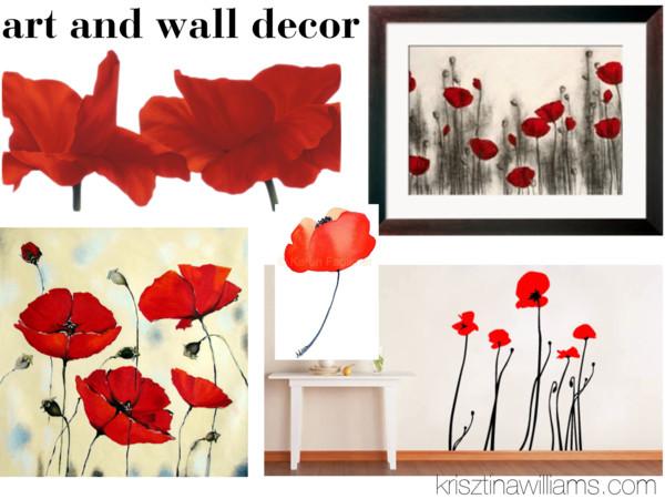 Red Poppy Home Decor Top Home Decor Trend Spring 2013 Top Color