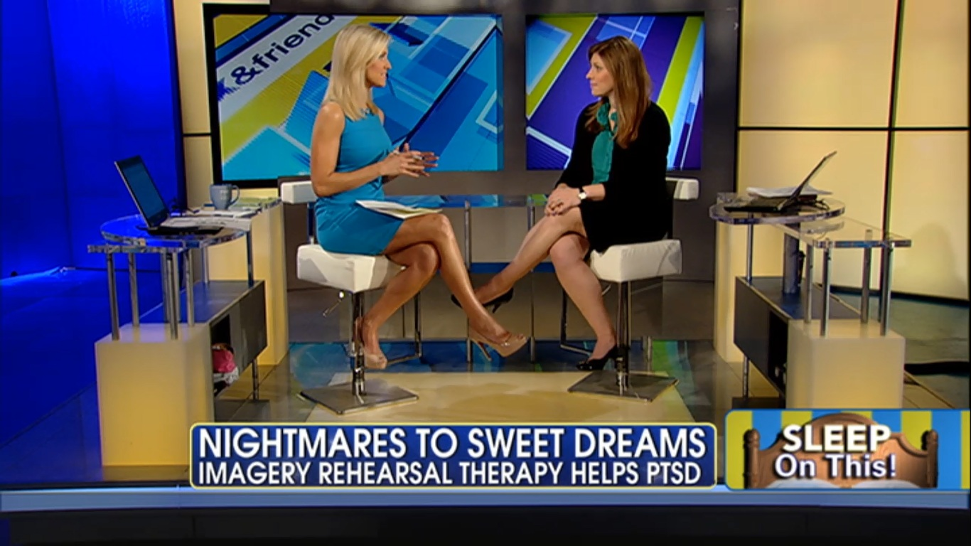 Wednesday: Ainsley E. and Heather N. caps @ Fox and Friends 1st.